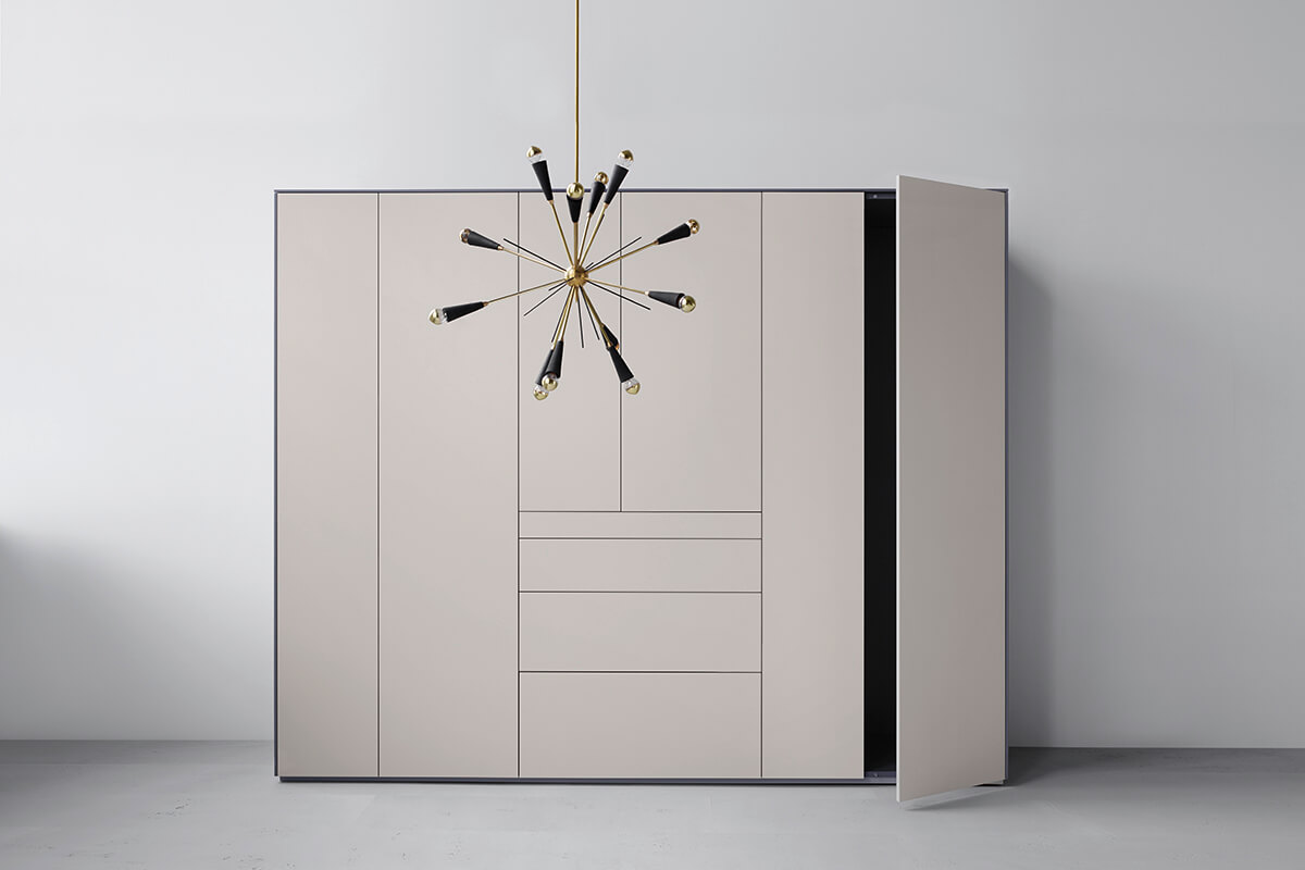 Piure creating living space sideboard nex line regal for Sideboard puro
