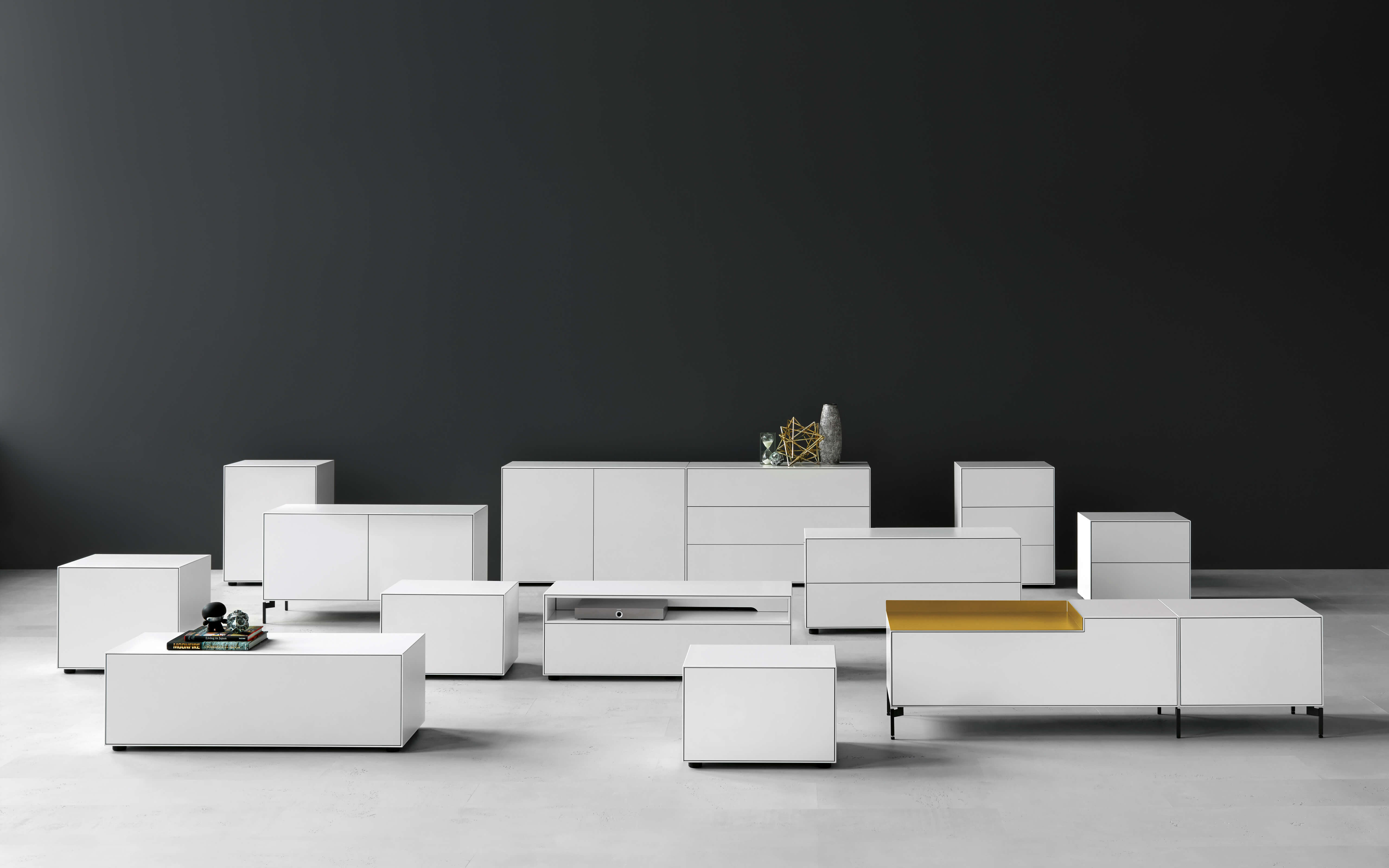 Piure Creating Living Space Sideboard Nex Line Regal Flex