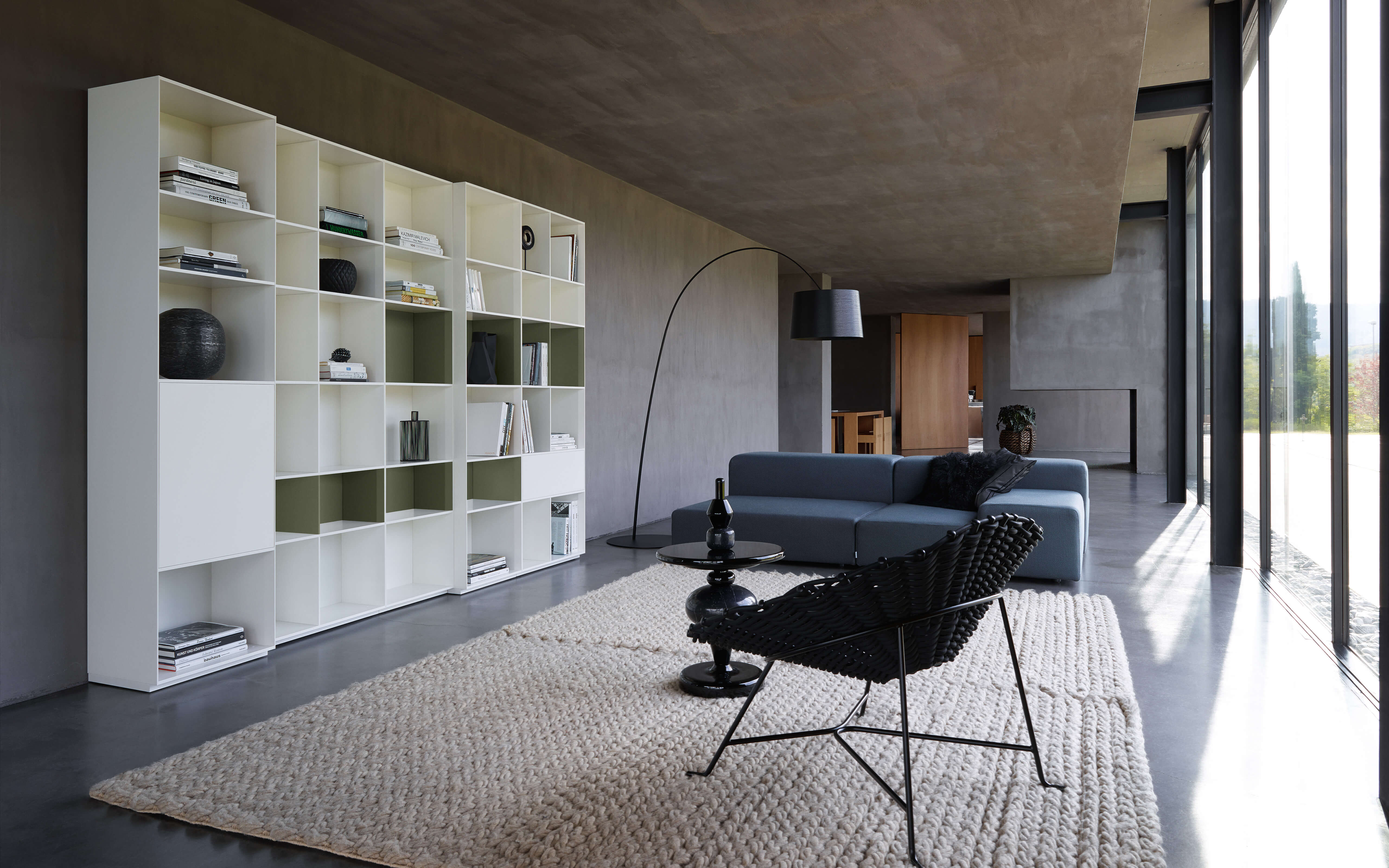 Piure creating living space u2013 sideboard nex line regal flex puro
